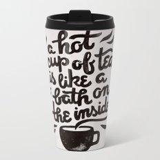 Hot Tea Metal Travel Mug