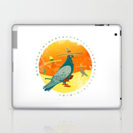 Feathers and bullets Laptop & iPad Skin