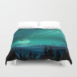Comfortably Numb Duvet Cover
