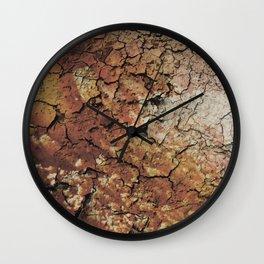 """""""Soil drought"""" Wall Clock"""