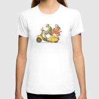 vespa T-shirts featuring Vespa by Yaeln