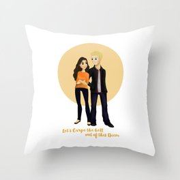 Ruby & Liam Throw Pillow