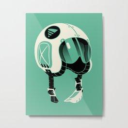 Super Motherload - Keep Helmet On Metal Print