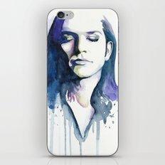 Brian Molko (Lilac) iPhone & iPod Skin