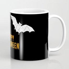 Happy Halloween flying bats Coffee Mug