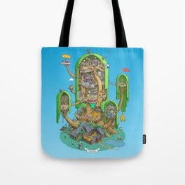 Home on a Tree Tote Bag