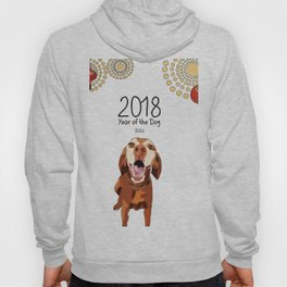 Year of the Dog - Vizsla Hoody