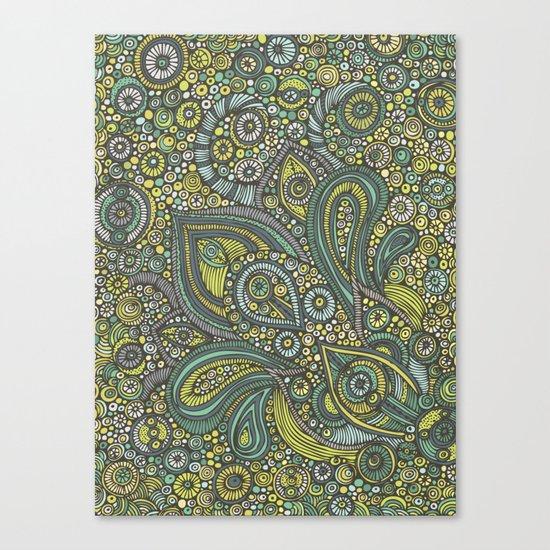 Blue safari Canvas Print
