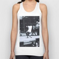 childish gambino Tank Tops featuring gambino gets down (Childish Gambino) by bryantwashere