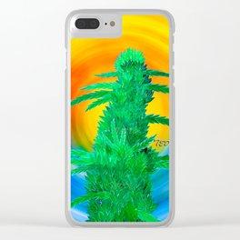 Beach Bud Clear iPhone Case