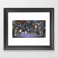 The God Particle Framed Art Print