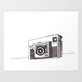 Instamatic X35 Art Print