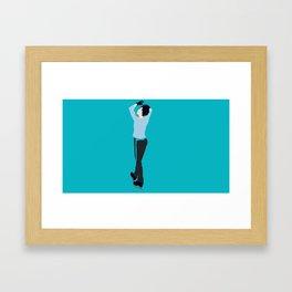 Yuuri Katsuki Minimalism Framed Art Print