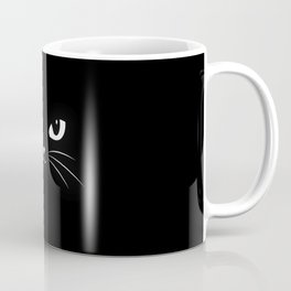 Cute Black Cat Coffee Mug