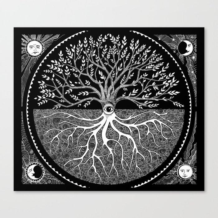 Druid Tree of Life Leinwanddruck