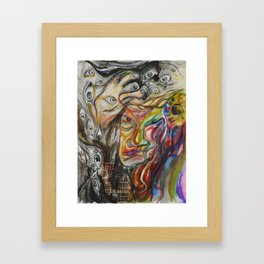 Meltdown Framed Art Print