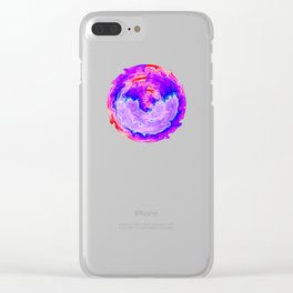 Aurora 3 - Ultraviolet Clear iPhone Case