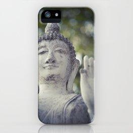 BUDDHA IN SUKHOTHAI II iPhone Case