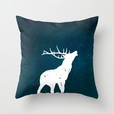 Winter Wildlife Throw Pillow