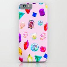 Rhinestone Reverie in Pink Slim Case iPhone 6s
