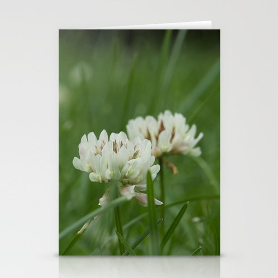 White Clover Stationery Cards