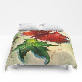 Platanus Leaves Comforters