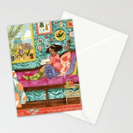The Embroiderer Stationery Cards