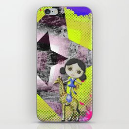 She's A Circus Superstar iPhone Skin