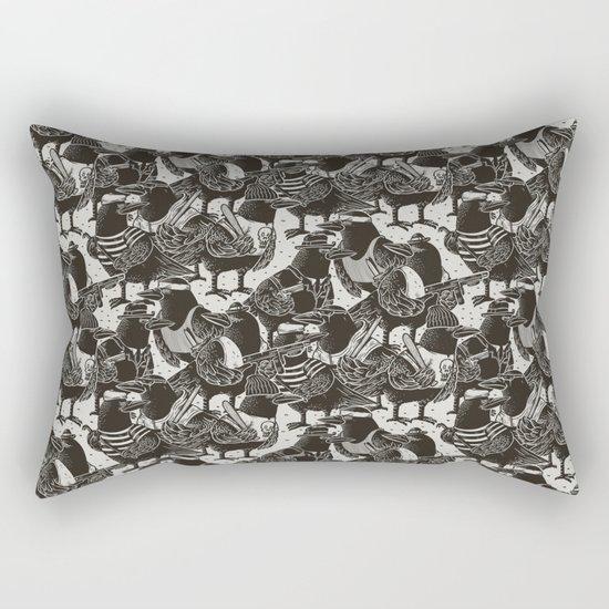 Murder Weapons Rectangular Pillow