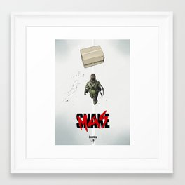 Cardboard destiny Framed Art Print