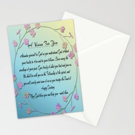 A Vision For You Stationery Cards