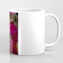 Rose Madder Orchids Coffee Mug