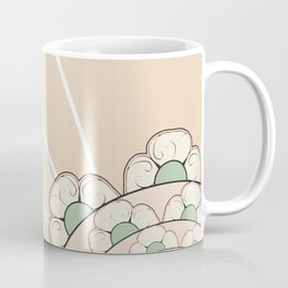 Four Leaf Coral Coffee Mug