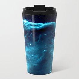 Turquoise Horsehead NeBula Travel Mug