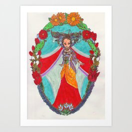 Queen of the Tundra Art Print