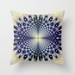 Fractal Abstract 99 Throw Pillow