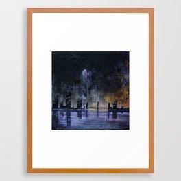 A Certain Shade of Green Framed Art Print