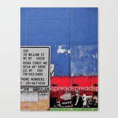 Street Collage II Canvas Print