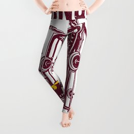 Conquer All Mind Body & Soul Fitness Design Leggings