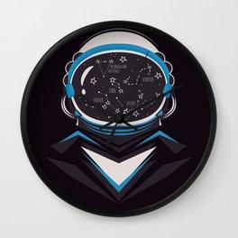 Space man Wall Clock