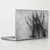 beetle Laptop & iPad Skins featuring Beetle by Salih Gonenli