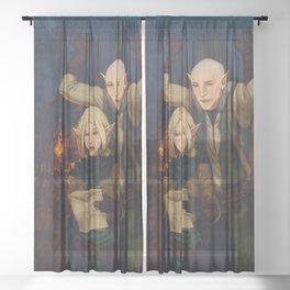 Lost Sheer Curtain