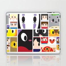 World of Ghibli Blocks Laptop & iPad Skin
