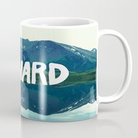 onward Mugs featuring Onward by Good Sense