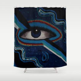 Third Eye Vision Shower Curtain