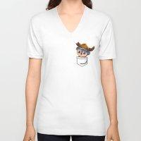 warcraft V-neck T-shirts featuring Viking Pepe! by SlothgirlArt