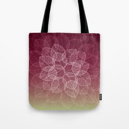 Dry Leaves - Wine Tote Bag