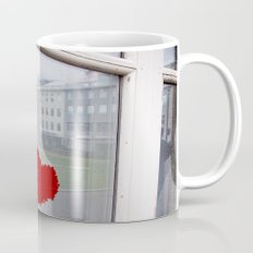 found heart Mug