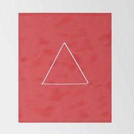 Fire - Minimal FS - by Friztin Throw Blanket