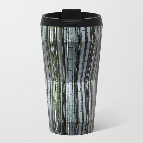 Bending Bamboo Metal Travel Mug